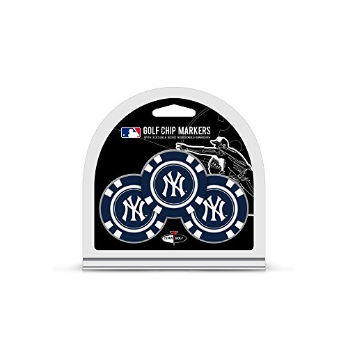 Ball New York Yankees (MLB New York Yankees 3 Pack Golf Chip Ball Markers)