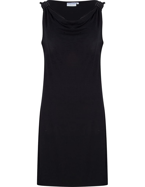 Pastunette 1071-395-3-999 Women's Black Viscose Kaftan