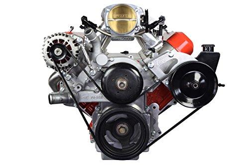 (LS Truck Alternator & Power Steering Pump Relocation Bracket Kit Accessory Kit LSX Saginaw 551396-3)