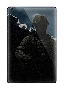 Ipad Mini/mini 2 Case Slim [ultra Fit] Us Soldiers Simple Protective Case Cover