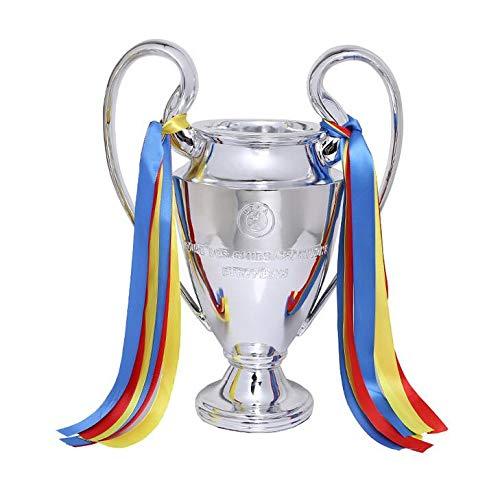 WESEAZON Premier League Football Championship Trophy Champion League Replica Trophy European Football League World Cup Football 2018 Fan Souvenirs Multi-Size,32cm ()