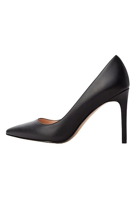 MANGO - Zapatos de Vestir para Mujer, Color Negro, Talla 35.5