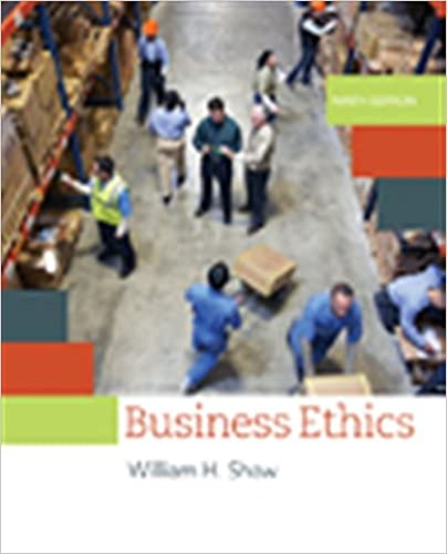 Amazon business ethics a textbook with cases mindtap course amazon business ethics a textbook with cases mindtap course list 9781305582088 william h shaw books fandeluxe Gallery