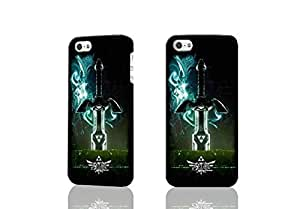 The Legend of Zelda Skyward 3D Rough Case Skin, fashion design image custom , durable hard 3D case cover for iPhone 5 5S , Case New Design By Codystore