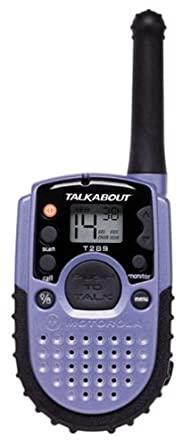 motorola talkabout. motorola talkabout t289 aa 2-mile 14-channel frs two-way radio ( talkabout
