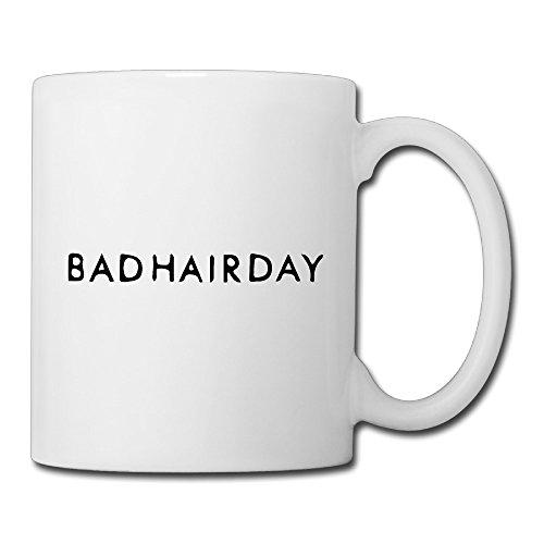 Christina Bad Hair Day Logo Ceramic Coffee Mug Tea Cup White
