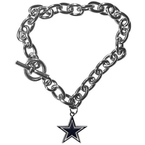 Siskiyou NFL Dallas Cowboys Charm Chain Bracelets ()