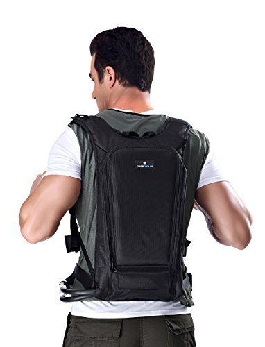 Price comparison product image Personal Microclimate Body Cooling Vest with backpack - includes Pump, Battery and Charger (L-XXL)