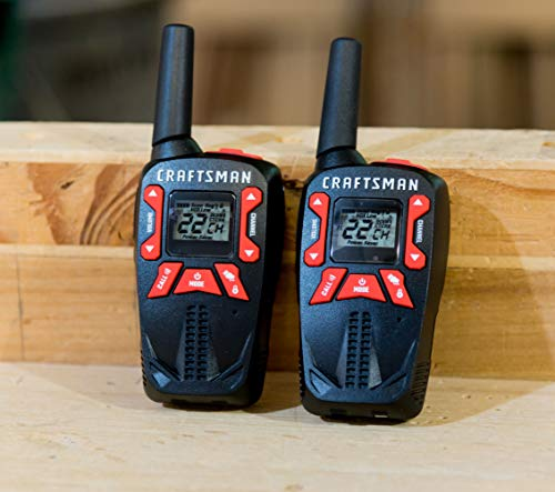 Craftsman CMXZRAZF333 Walkie Talkies Two-Way Business Radios (Pair) by Craftsman (Image #9)