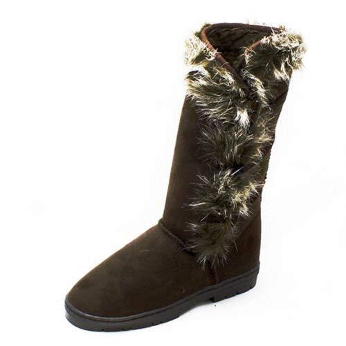 Femme Pour Sendit4me Bateau Chaussures Marron qZqw4Fnt