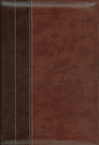 New International Version Archaeological Study Bible: Italian Duo-Tone, Chocolate/Dark Caramel