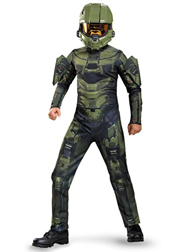 Master Chief Classic Costume, Medium (7-8) -