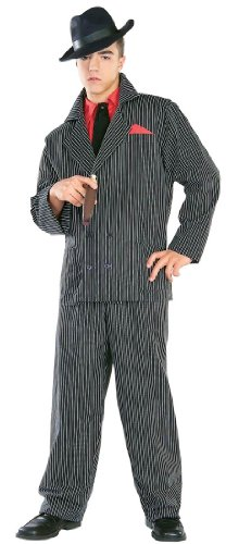 Gangster Man Zoot Suit Adult Costume - Adult XL