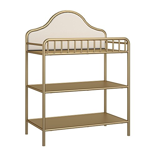 Little Seeds Piper Metal Changing Table, Gold By Little Seeds
