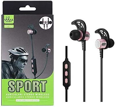 ellietech BTS auriculares magnéticos Bluetooth V4.2, Estéreo ...