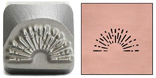 - Sunrise Metal Design Stamp, 8mm Vintage Sunburst Fireworks 4th of July Punch Stamping Tool for Hand Stamped DIY Jewelry Crafts - Beaducation Original Metal Design Stamps