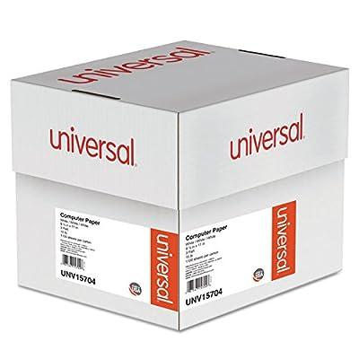 "Universal Computer Paper, 3-Part Carbonless, 15lb, 9-1/2"" x 11"" , White, 11"" 00 Sheets (15704)"