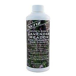 NI-712 Odor Eliminator, Lavender Meadow, 1 Pint