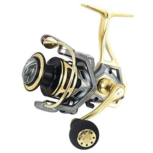 (ANGLER DREAM Bumblebee Saltwater Fishing Reel 4000 Fishing Reels 10 BB Ball Bearings Fishing Spinning Reel)