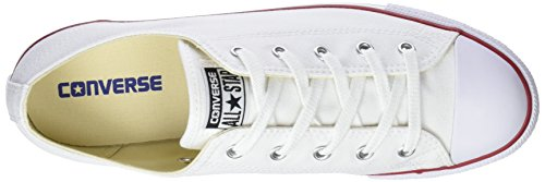 Femme white Ct 100 Ox Blanc Chuck Basses Sneakers Converse Dainty Taylor Rx47PB