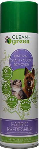 Clean+Green Furniture Refresher for Pet Odors for Dogs and Cats, 16 oz by Clean+Green