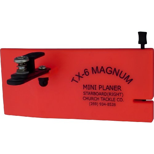Church Tackle TX-6 Magnum Mini Planer Board-Right