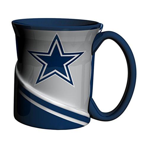 NFL Dallas Cowboys Twist Mug, 18-ounce, Blue (Mug Dallas Cowboys Nfl)