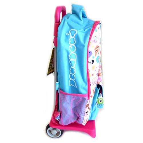 Tsum'rosa Blu Cm 'disney Tsum 40x23x10 Trolley Zaino tqT7Zt