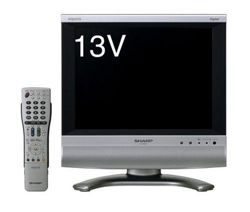 シャープ 13V型 液晶 テレビ AQUOS LC-13SX7 ハイビジョン   2006年モデル 13V型  B000GYI4PI
