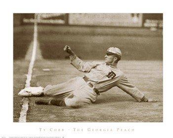 Ty Cobb, the Georgia Peach - Poster