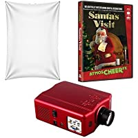 Virtual Reality Christmas Projector Kit with HD Projector Santas Visit DVD and High Resolution Screen