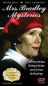 Mrs. Bradley Mysteries - Death at the Opera / The Rising of the Moon / Laurels Are Poison / The Worsted Viper [VHS]