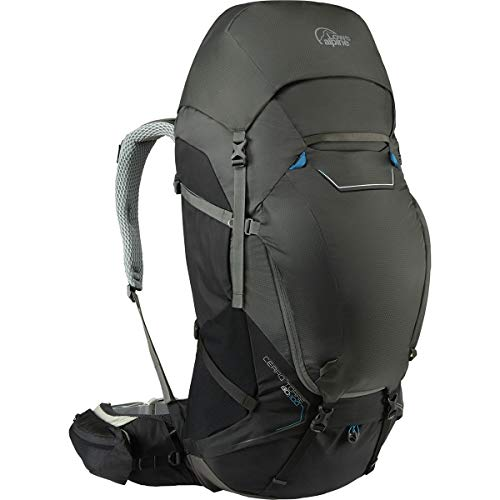 - Lowe Alpine Cerro Torre 80:100L Backpack Black/Greyhound, M/L