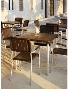 Nardi Maestrale mesa con 4 sillas de Musa – Cafetera.: Amazon.es: Jardín