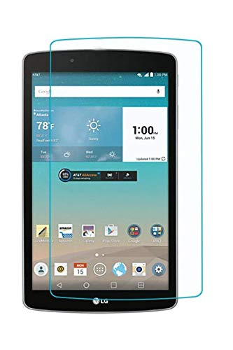 BodyGuardz Pure Tempered Glass Screen Protector for LG G Pad X 8.0 ()
