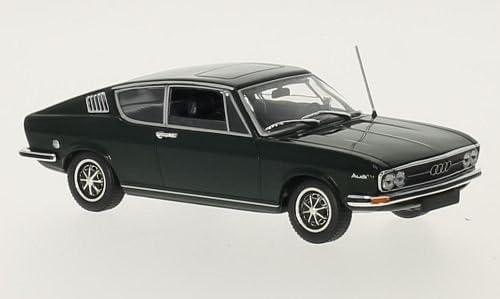 dunkelgr/ün Minichamps 1:43 Audi 100 Coupe S Modellauto Fertigmodell 1969