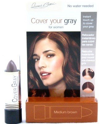 [Cover Your Gray Stick Medium Brown 1.5 oz. (Case of 6)] (Gray Stick)