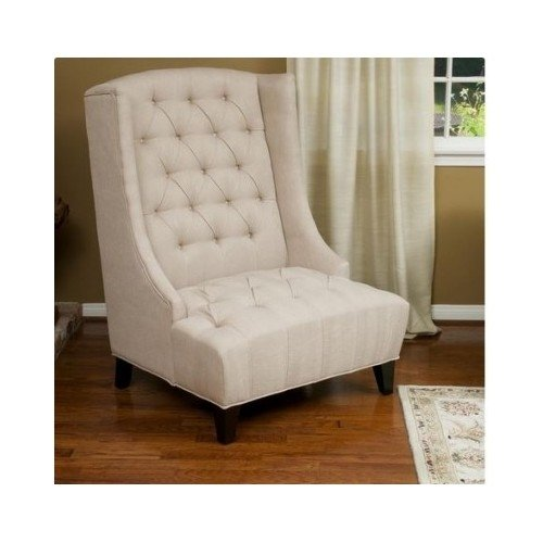 High Back Chair a Welcome Piece of Contemporary Furniture, Living Room and Today's Stylish Decor, On sale Now, This Classic Victorian Style Living Room Masterpiece Sets Off Any Couch or Sofa. Make a Statement with This Elegant Over Sized Home Giant.