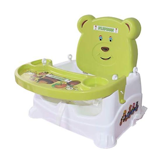 Flipzon 5 in 1 Multipurpose Booster Baby Chair (Green)