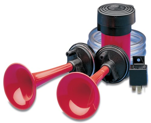 HELLA 003001791 Dual Tone Air Horn Kit