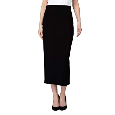 Joseph Ribkoff Black Skirt Style 193092 (Size 16) at Women's Clothing store