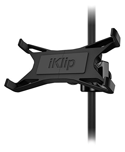 1 Universal Microphone - IK Multimedia iKlip Xpand universal mic stand support for iPad and tablets