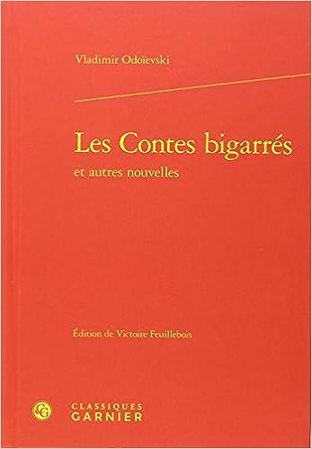 Les contes bigarrés et autres nouvelles pdf