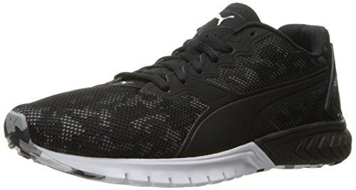 PUMA Men's Ignite Dual Camo Running Shoe, Puma Black, 10.5 M US