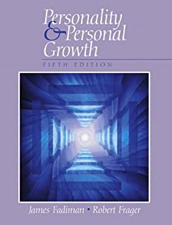 Table of contents for Personality and personal growth / Robert Frager, James Fadiman.