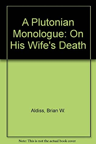 book cover of Plutonian Monologue On His Wife\'s Death