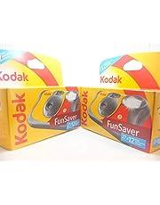 Kodak - Cámaras deshechables con Flash (39 exposiciones, 2 Unidades)