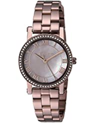 Michael Kors Womens Quartz Stainless Steel Casual Watch, Color:Brown (Model: MK3683)