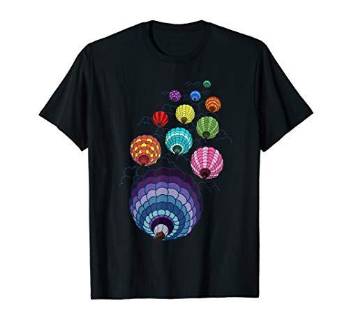 Balloon Air Hot Rides - Hot Air Balloons Festival Tshirt - Balloon Sky Ride