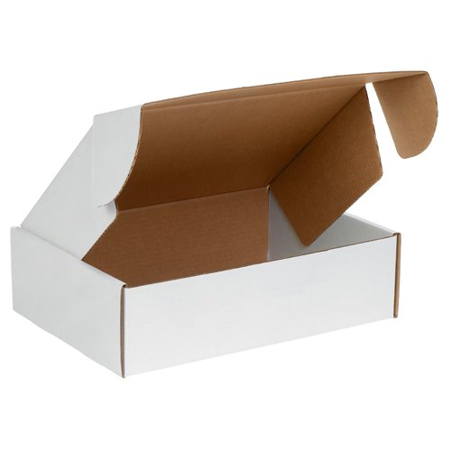 BOX USA BMFL16126 16''L x 12''W x 6''H, White (Pack of 25) by Box